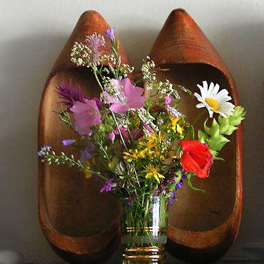 bouquet et vieux sabots