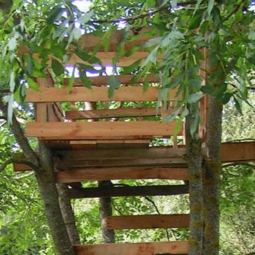 Fabriquer une cabane dans les arbres