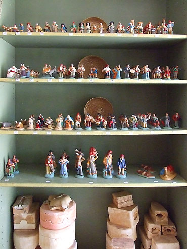 collection de santons provençaux