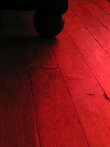 plancher rouge